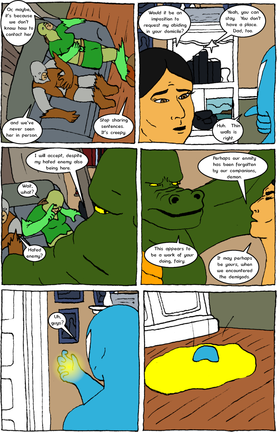 Issue 8: Young Adult Anthropomorphic Warrior Chuckwallas - Page 2