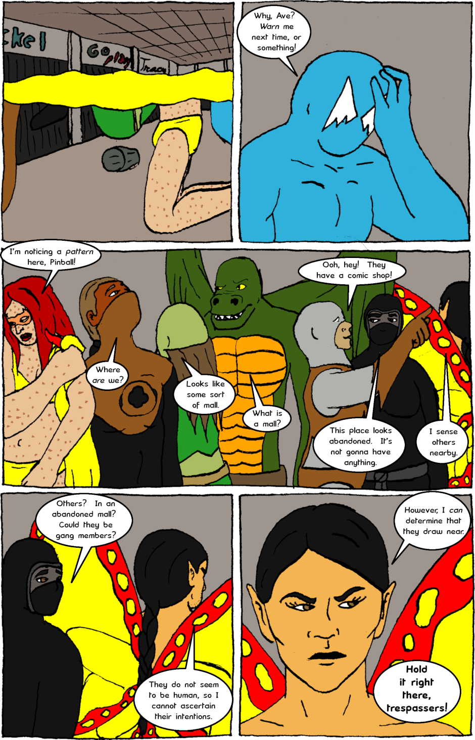 Issue 8: Young Adult Anthropomorphic Warrior Chuckwallas - Page 3